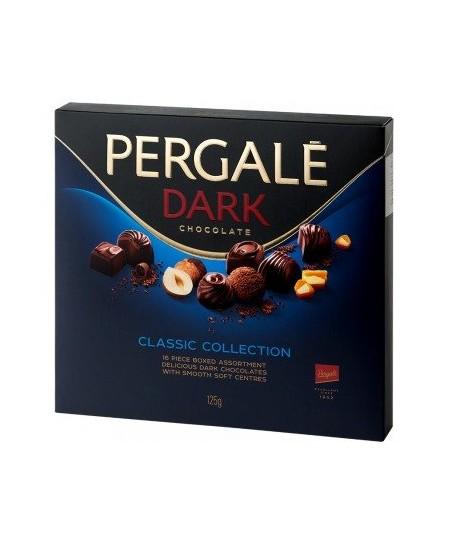 Saldainių rinkinys PERGALĖ Dark Collection 125 g