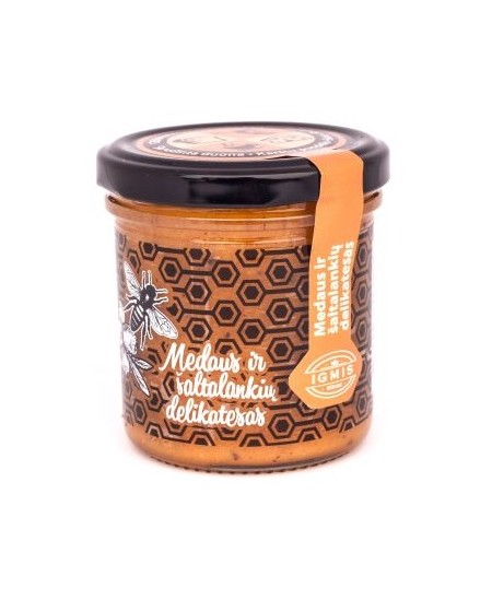 Medaus ir šaltalankių delikatesas, 200 g