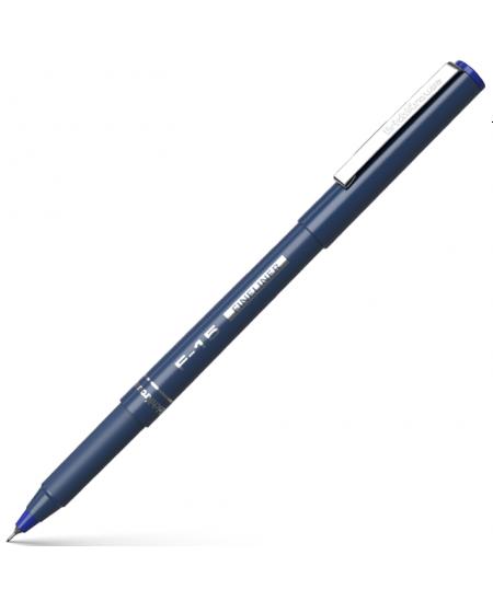 Rašiklis ERICH KRAUSE F15, 0.6 mm, mėlynas