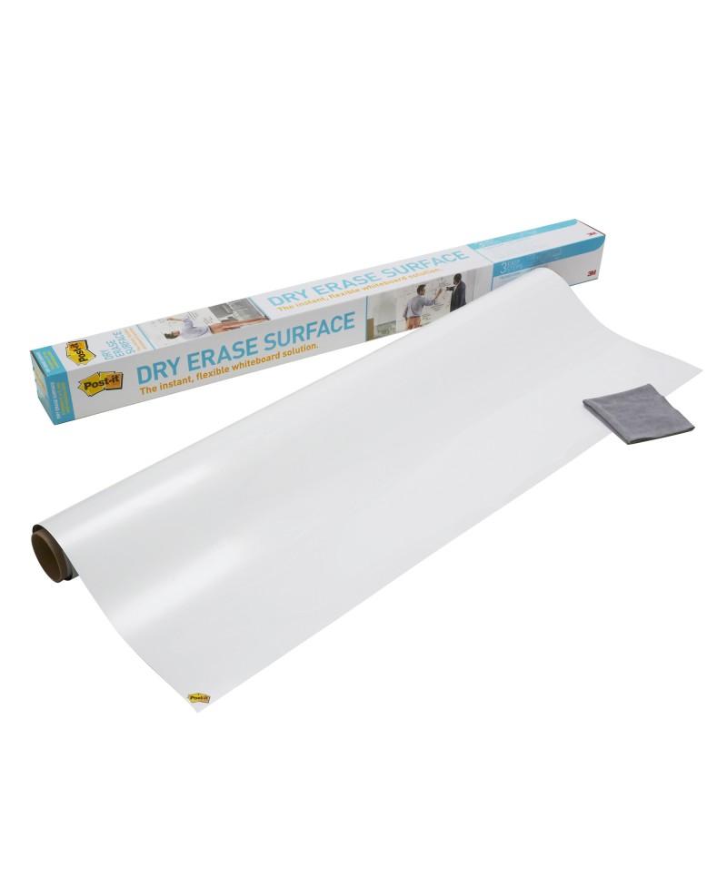 Balta priklijuojama rašymo lenta POST-IT, 61x91 cm