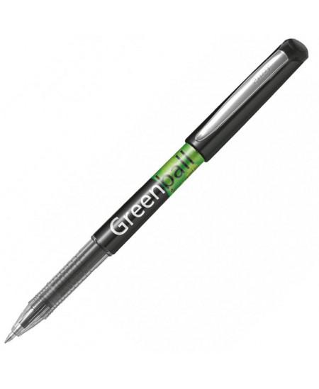 Rašiklis Pilot BG Greenball ,0,7 mm,juodos sp.Pagamintas iš perdirbtos žaliavos