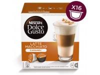 Kavos kapsulės NESCAFE Dolce Gusto Latte Macchiato Caramel