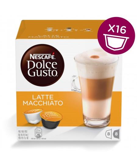 Kavos kapsulės NESCAFE Dolce Gusto Latte Macchiato