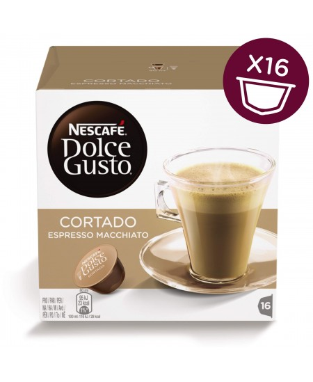Kavos kapsulės NESCAFE Dolce Gusto Cortado