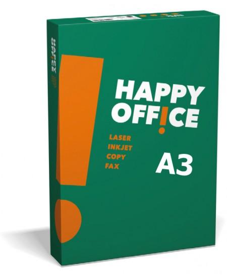 Popierius HAPPY OFFICE, 80 g/m2, A3, 500 lapų