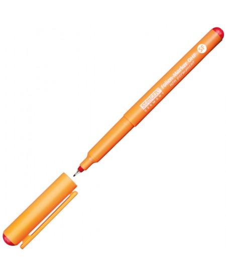 Nuvalomas žymeklis STANGER OHP, 0,4 mm, raudonas