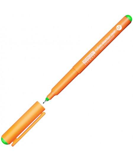 Nuvalomas žymeklis STANGER OHP, 0,4 mm, žalias