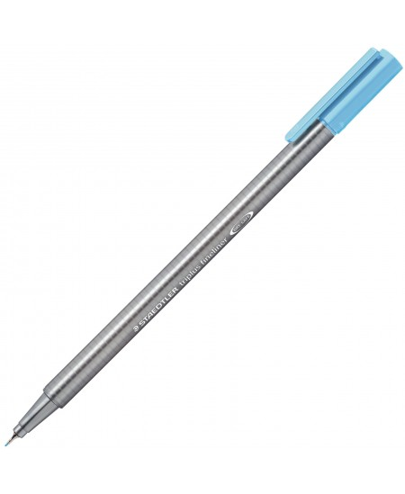 Rašiklis Staedtler TRIPLUS FINELINER, šviesiai mėlynas