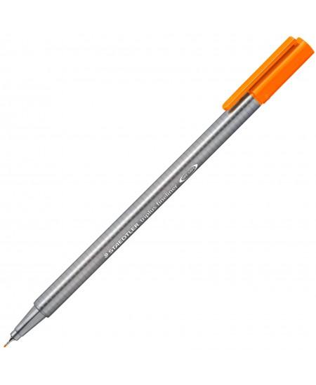 Rašiklis Staedtler TRIPLUS FINELINER 0,3mm , oranž