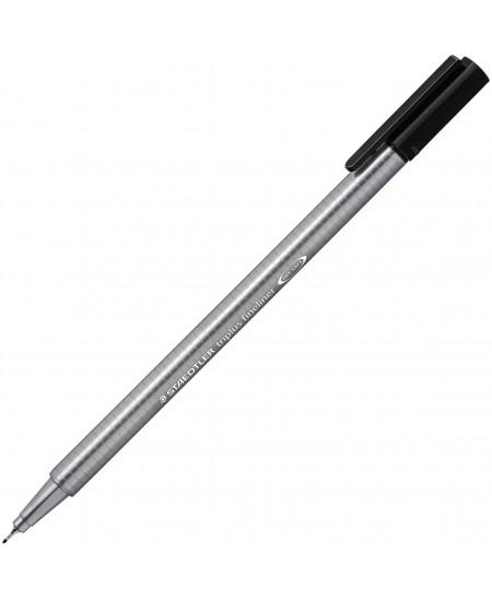 Rašiklis TRIPLUS ROLLER , juoda spalva