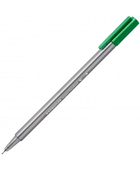 Rašiklis TRIPLUS ROLLER ,žalia spalva