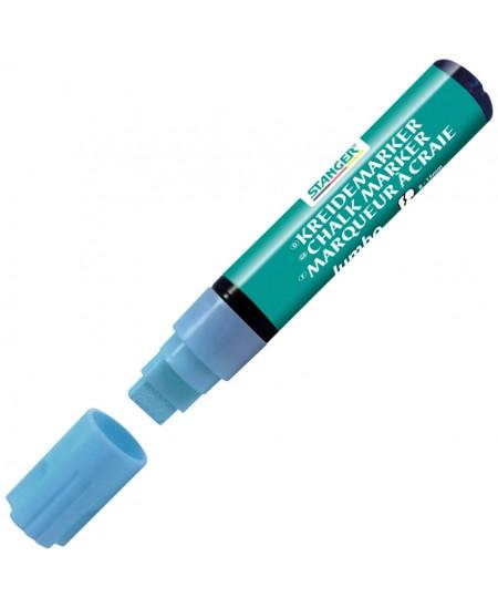 Kreidinis žymeklis STANGER Jumbo, mėlynas