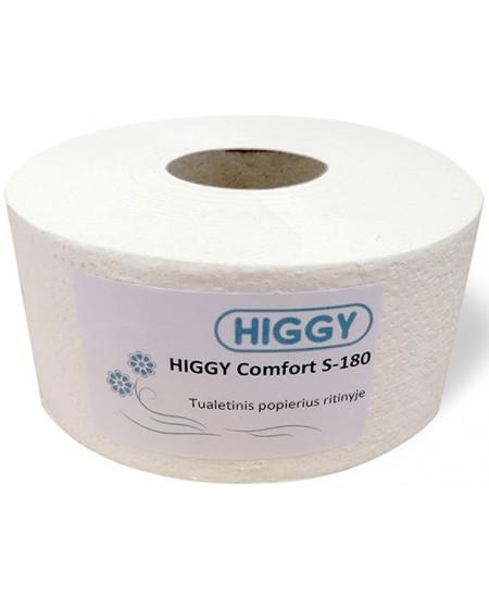 Tualetinis popierius ritinyje HIGGY Comfort S-180, 1 ritinys