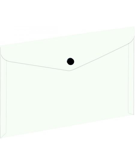 Dėklas - vokas su spaustuku GRAND, A5, skaidrus