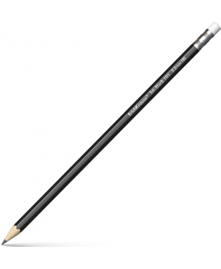 Pieštukas ERICH KRAUSE JET su trintuku, padrožtas, HB