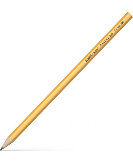 Pieštukas ERICH KRAUSE Amber, padrožtas, HB