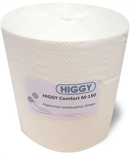 Popieriniai rankšluosčiai ritinyje HIGGY Comfort M-150, 1 ritinys