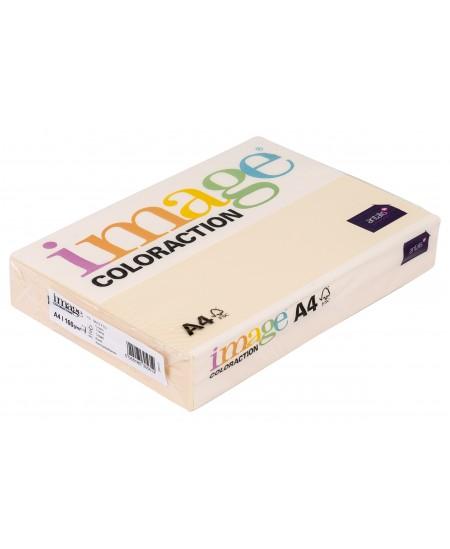 Spalvotas popierius IMAGE COLORACTION, 160g/m2, A4, 250 lapų, kreminė (Cream)