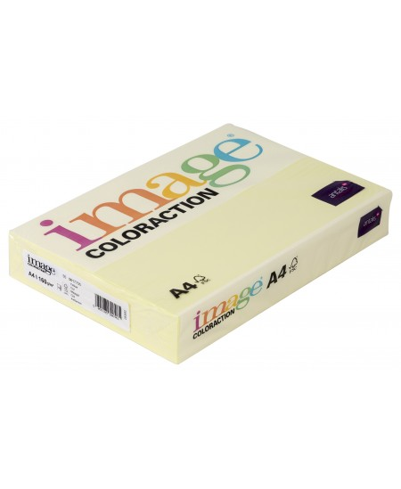 Spalvotas popierius IMAGE COLORACTION, 160g/m2, A4, 250 lapų, geltona (Yellow)
