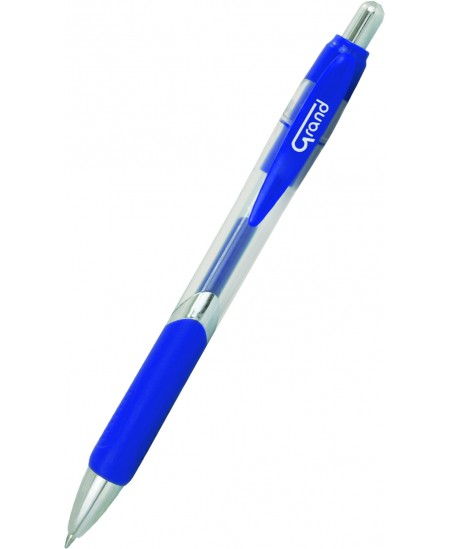 Automatinis gelinis rašiklis GRAND GR-161, 0.5 mm, mėlynos spalvos