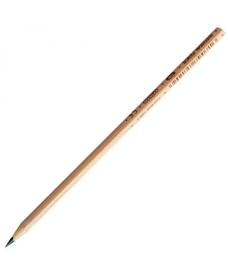 Natūralios medienos pieštukas CRICCO, padrožtas, HB