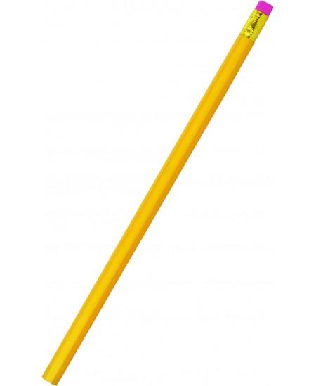 Pieštukas GRAND su trintuku, nepadrožtas, 2B