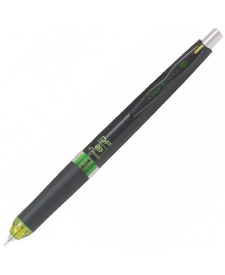 Automatinis pieštukas PILOT DF the shaker, žalias korpusas, 0,5 mm