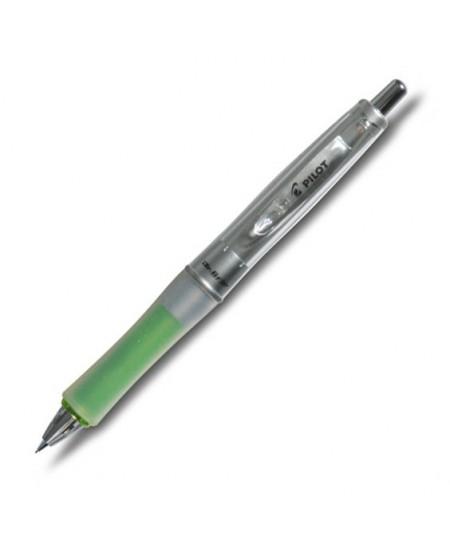 Automatinis pieštukas PILOT DR grip, žalias korpusas, 0,7 mm