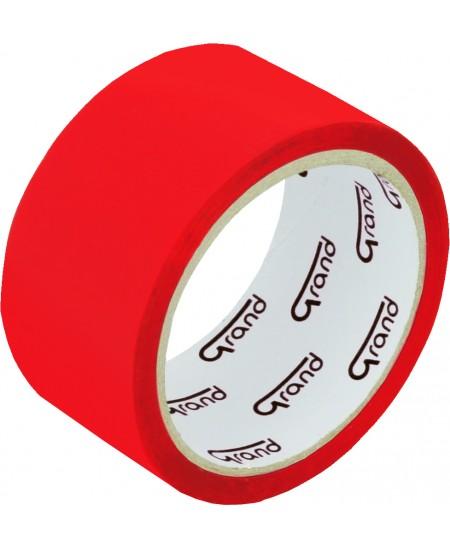 Lipni juosta GRAND, 48 mm x 50 m, raudona