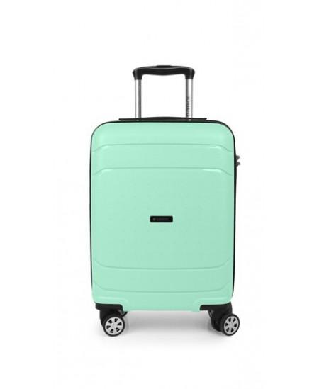 Kelioninis lagaminas SHIBUYA, mažas, 37x55x20 cm, mėtų spalvos