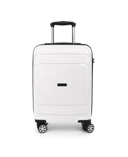 Kelioninis lagaminas SHIBUYA, mažas, 37x55x20 cm, baltas