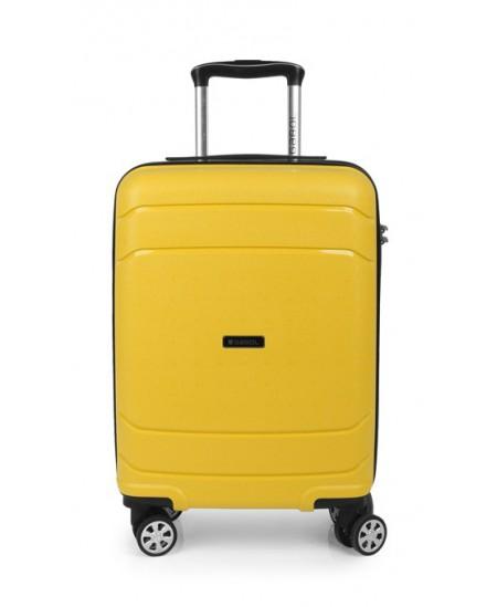 Kelioninis lagaminas SHIBUYA, mažas, 37x55x20 cm, geltonas