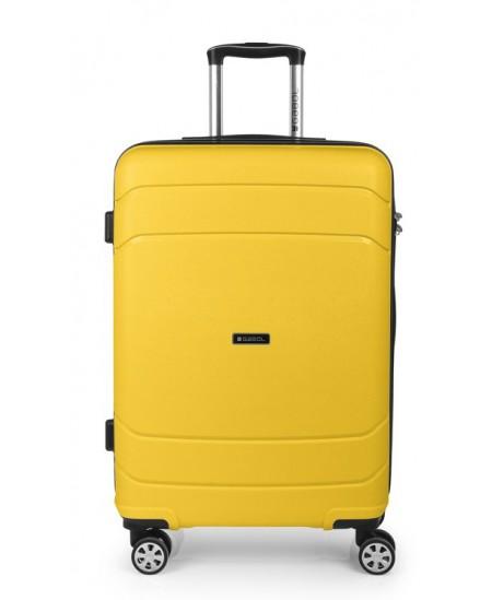 Kelioninis lagaminas SHIBUYA, vidutinis, 45x67x26 cm,  geltonas