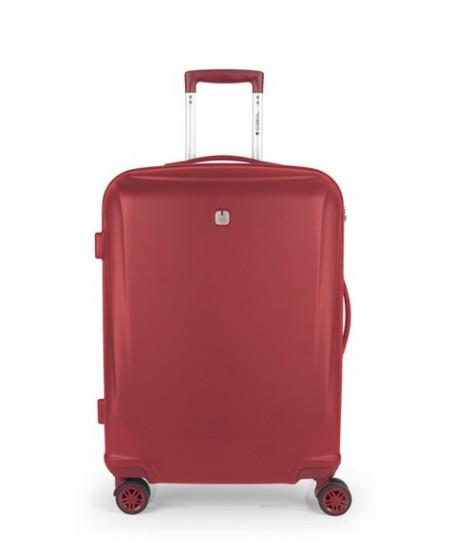 Kelioninis lagaminas VERMONT, vidutinis, 48x68x25 cm, raudonas