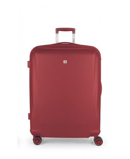 Kelioninis lagaminas VERMONT, didelis, 56x78x28 cm, raudonas