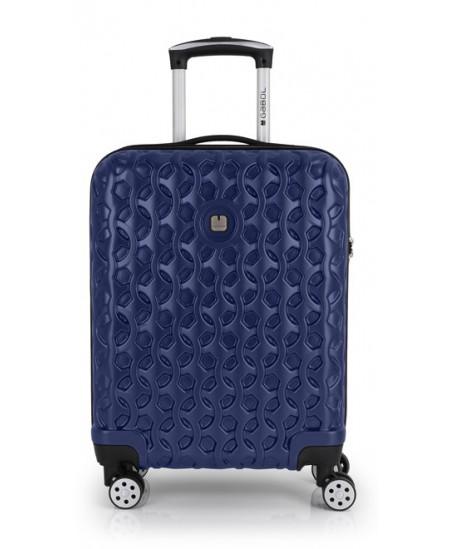 Kelioninis lagaminas RENDER, mažas, 40x55x20 cm, mėlynas