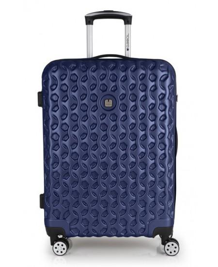 Kelioninis lagaminas RENDER, vidutinis, 46x65x24 cm, mėlynas