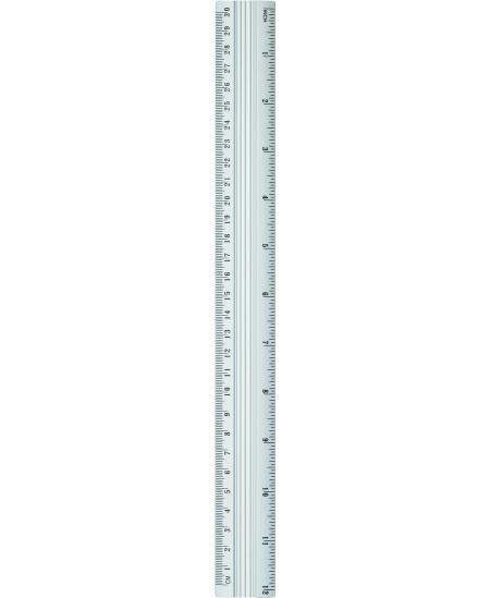 Liniuotė GRAND, 30 cm, metalinė