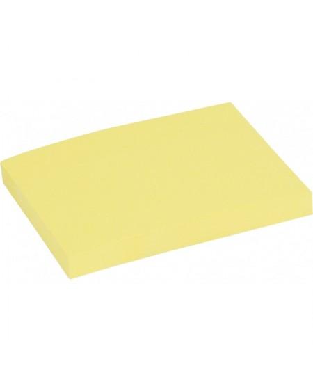 Lipnūs lapeliai EAGLE STICKY, 100x75 mm, 100 lapelių, geltoni