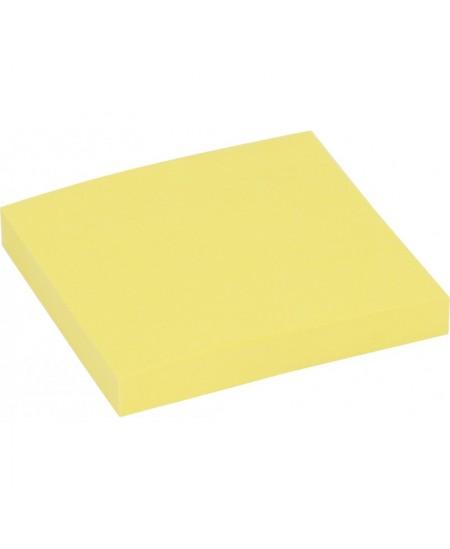 Lipnūs lapeliai EAGLE STICKY, 50x75 mm, 100 lapelių, geltoni