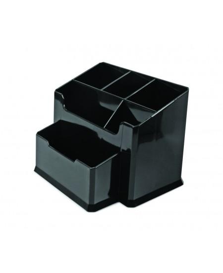 Pieštukinė FORPUS, 6 skyriai, juoda