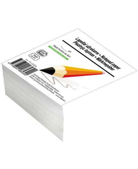 Lapeliai užrašams, 80x80 mm, balti, 500 lapelių