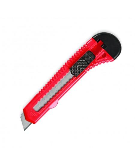 Maketavimo peiliukas FORPUS, 18 mm, plastikinis pagrindas