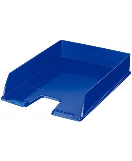 Padėklas dokumentams CENTRA, mėlynas