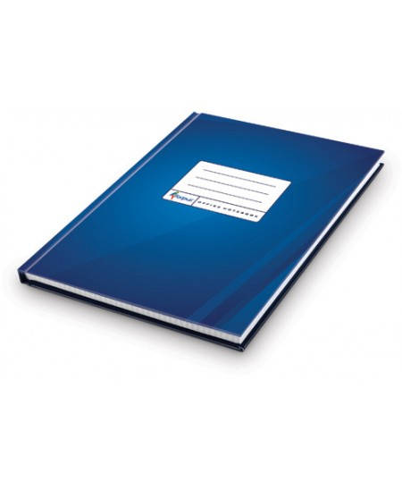 Kontorinė knyga ECO DARK BLUE, A4, 96 lapai, langeliais