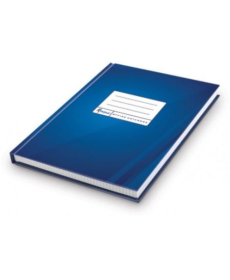 Kontorinė knyga ECO DARK BLUE, A4, 192 lapai, langeliais