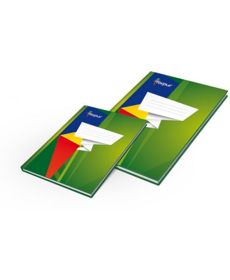 Kontorinė knyga ECO, A4, 96 lapai, langeliais, kartoninė