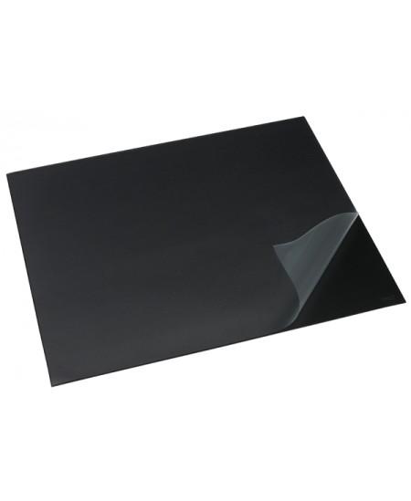 Patiesalas rašymui RILLSTAB su skaidriu atvaru, 520x650mm, juodas