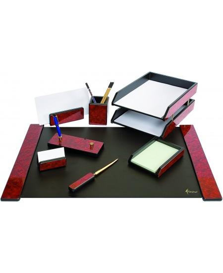 Darbo stalo rinkinys FORPUS, medinis, 8-ių dalių