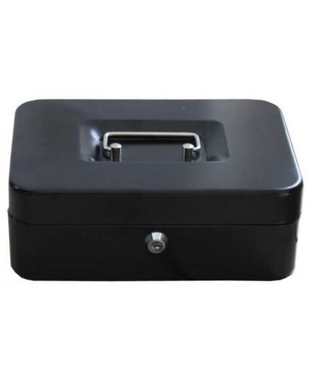 Dėžutė pinigams FORPUS, 250x170x75 mm, juoda